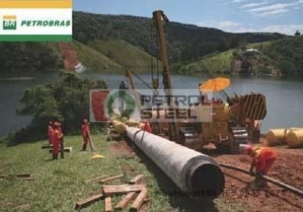 Clad Pipe Fitting Supplier PETROBRAS