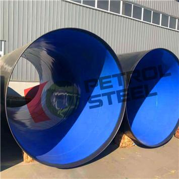 The functions of the bell spigot SAW Steel Pipes in Sewerage System, Aqueduct Project and Hydroelectric Power Constructions