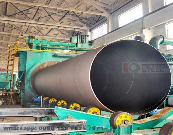 SSAW Steel Pipe Bell Spigot